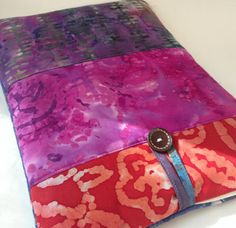 Batik Mac Book AIR 13 inch Case Hand Dyed Laptop by MadeByJulie