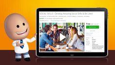 [100% Off] SOCIAL SKILLS - Develop Amazing Social Skills & Be Liked  Worth…