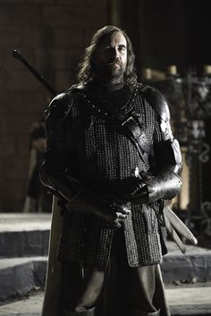 "Sandor Clegane ""The Hound"" (Le Limier) Game of Thrones - Season 2 Episode 4"