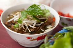 Get Luke Nguyen's Char Grilled Pork Paddies with Vietnamese Herbs: Bun Cha Recipe from Cooking Channel