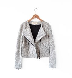 Vanessa Bruno Athé Ivorie Perfecto Jacket .. myth & symbol