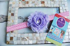 Vintage Inspired Lavender & Pink Polka Dot Shabby by Unikbaby, $3.00