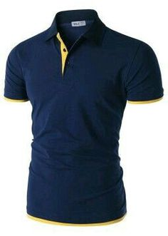 Doublju for Men: Short Sleeve Polo Shirt with Placket Detail. Summer Outfits, Casual Outfits, Cute Outfits, Look Fashion, Mens Fashion, Fashion Outfits, How To Become Pretty, Le Polo, Cool Style