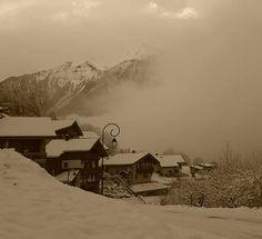 Un matin sous la neige #peiseyvallandry #neige #zen #calme #savoie #MagnifiqueFrance