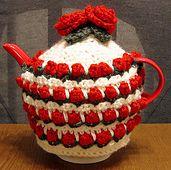Ravelry: Rose Bud Tea Cozy pattern by Debi Dearest