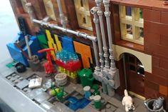 Brick In The Wall, Lego Figures, Lego Architecture, Custom Lego, Slums, Cool Lego, Lego Creations, Lego Star Wars, Legos
