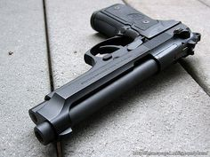 Beretta 96FS Chambered for 40 cal S & W, 2nd part of my home defense