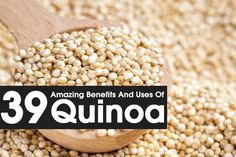 Quinoa is a whole grain and not a true cereal belonging to spinach family. Read to know Quinoa nutrition & its amazing benefits for health, hair & skin.