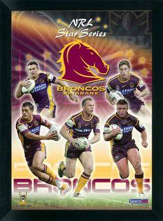Brisbane Broncos, My favorite Rugby League Team. Basketball Photos, Sports Basketball, Soccer, Rugby League, Brisbane Broncos, Dad's Army, Australian Football, Go Broncos, All Team