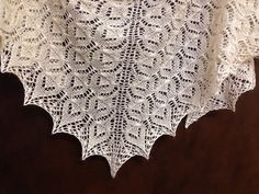 Ravelry: espressoknitting's Rowan lace shawl