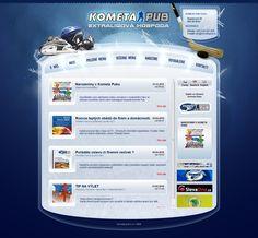 Webdesign Kometa Pub