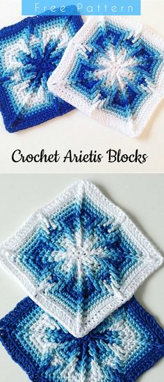 The Arietis Crochet Apache Tears Squares Free Pattern   DIY
