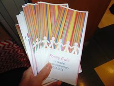 Poetry Cafe Brochures!