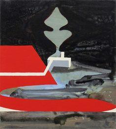 Julian Hooper Small space 2014 Acrylic on linen 25 x 22 cm