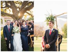 Gorgeous green Ojai Valley Inn and Spa Wedding by All You Need is Love Events and Jillian Rose Photography; ceremony