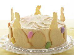 Raspberry-Lemon Easter Cake from FoodNetwork.com
