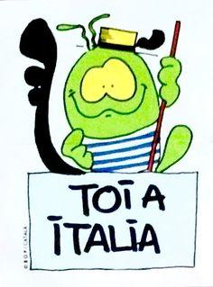 Toi a Italia. Bollycao.