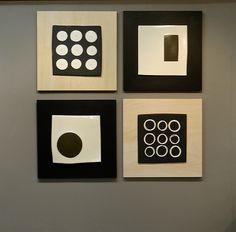 Great Lori Katz ceramics wall art.