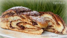 Izraelský závin (fotorecept) - Recept Home Recipes, Great Recipes, French Toast, Ale, Food And Drink, Pizza, Tasty, Sweets, Scrappy Quilts
