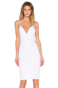 A bit lower cut than I'm thining but nice cut otherwise - Toby Heart Ginger Sophia Midi Dress in White