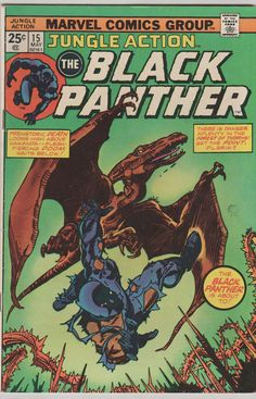Jungle Action V2 15 Mark Jeweler's Insert.  by RubbersuitStudios, $6.50 #blackpanther #comicbooks