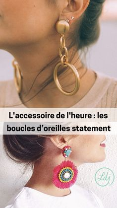 Structured Statement Earrings - Les boucles d oreilles statement ultra  tendance en 2018 - Look 85d4ab4e029b