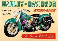 Carteles-Publicidad - (01707) - Harley - Davidson - Hydra-Glide - Din-A3_640x453 (Copiar).jpg (1085×768)