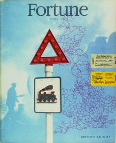 Will Burtin - Fortune magazine, April 1947. Cover design by Lester Beall