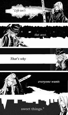 Undertaker from Black Butler- Anime quotes Black Butler Quotes, Black Butler 3, Black Butler Anime, I Love Anime, Awesome Anime, Anime Guys, Manga Anime, Manga Girl, Der Undertaker