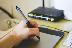 Editing with the Wacom Intuos Touch small tablet via www.everydayelementsonline.com