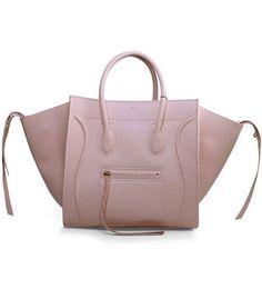 cfbcc86515af Celine Phantom Square Bags Light Pink Imported Leather Net Shopping