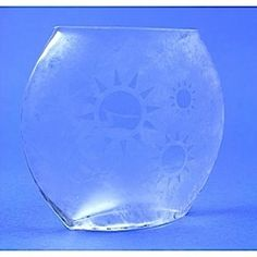 Sunny Vase Glass Etching Project