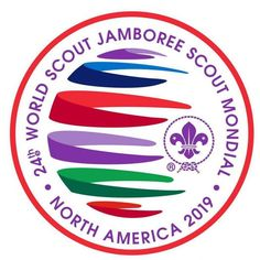 FUJI OFFICIAL SOUVENIR Neckerchief Woggle 2015 World Scout Jamboree MT