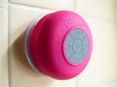 Bluetooth Shower Speaker - 4 Colors: Dotzila on sale for $18, I like blue