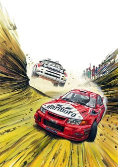 car art Cool rally artwork for you all! Auto Illustration, Japon Illustration, Sport Cars, Race Cars, Jdm Wallpaper, Course Automobile, Japan Cars, Car Posters, Car Drawings
