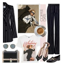 """Coffee-Date"" by faten-m-h ❤ liked on Polyvore featuring By Charlotte, And Finally, Zimmermann, Fendi, Kate Spade, Ray-Ban, Balenciaga and CoffeeDate"