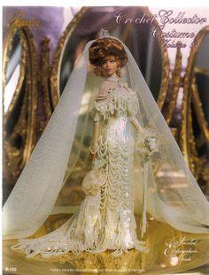 Barbie, Crochet Collector Costume Vol. 91