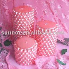 pearl candles