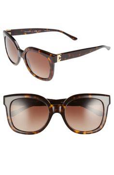 04380a58b3 Tory Burch Modern-T 54mm Gradient Cat Eye Sunglasses