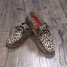 Twisted X Women's Cheetah Driving Moc