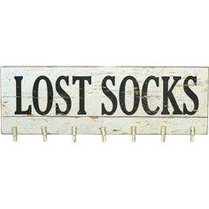 Lost Socks Wall Decor