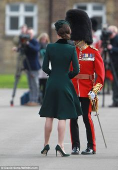 Kate appears in London today...
