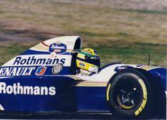 Ayrton Senna (Rothmans Williams-Renault V10, FW16)