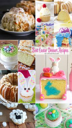 Best Easter Dessert Recipes to make your Easter the best ever! Delight all your friends & family with these DELICIOUS recipes for a beautiful day! via @KleinworthCo