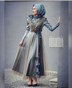 Stylish Evening Dresses for Special Occasions - Cocktail Dress Uk Fashion, Muslim Fashion, Modest Fashion, Hijab Fashion, Fashion Dresses, Womens Fashion, Hijab Abaya, Hijab Dress, Turban Hijab