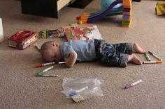 16 fotos de bebés durmiendo que te darán ganas de abrazarlos