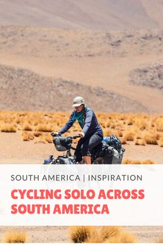 Cycling Solo Across South America. Story of Marika Latsone