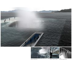 Water Pavilion. Competition design for Yeosu Water Expo in 2012, South Korea. Daniel Valle Architects