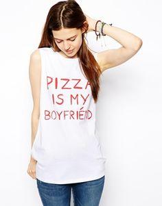 Pizza is my boyfriend-Shirt by ASOS