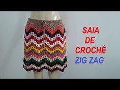 Zig Zag Crochet, Crochet Baby, Crochet Top, Crochet Skirts, Crochet Blouse, Crochet Clothes, Diy Clothes, Parte Superior Del Bikini, Hippie Crochet